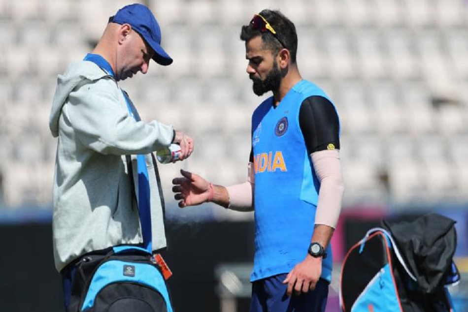 ICC World Cup 2019: Virat Kohli gets injured ahead of the first match against south africa