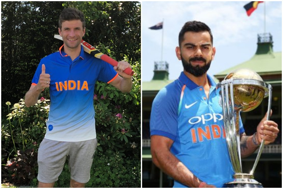 ICC World Cup 2019: German Football Star Thomas Mueller Posts Special Message For Virat Kohli