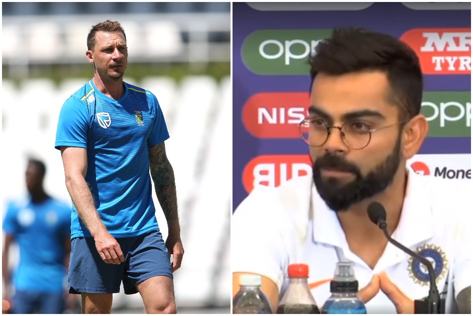 ICC World Cup 2019: Virat Kohli gives special message to his friend Dale Steyn