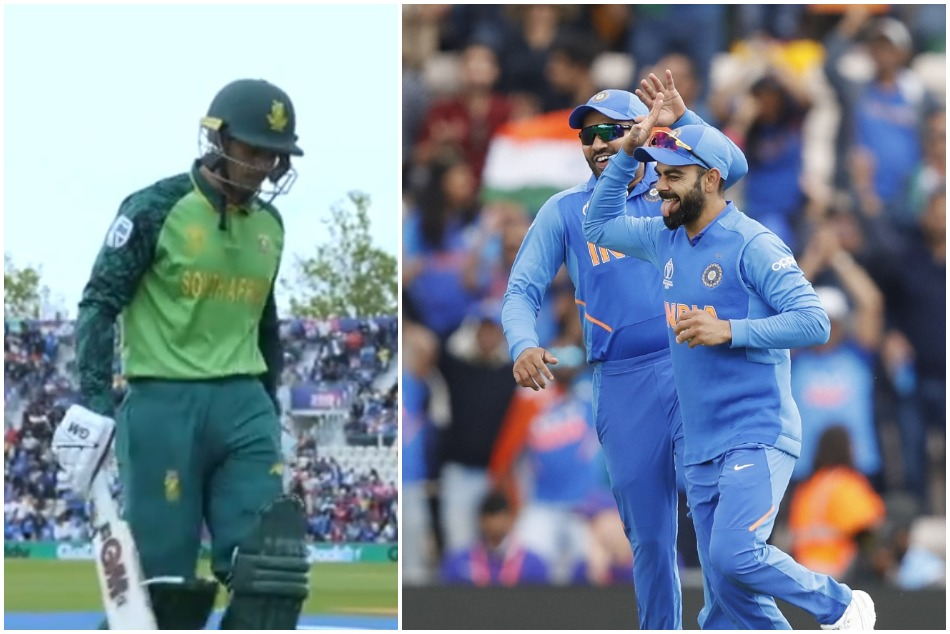 CWC19: Virat Kohli impressed all with his Dhonis style captaincy against South Africa