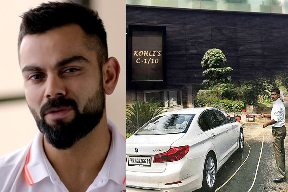 Virat Kohlis housekeeper was fined by Gurugram nagar nigam on water wastage