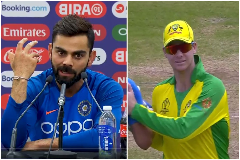 Cwc19 Virat Kohli Reveals Why He Did Apologies To Steve Smith