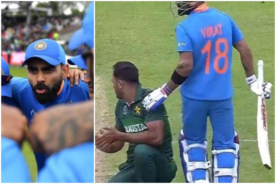 INDvsPAK: Virat Kohlis gesture for wahab riaz winning millions heart across the border