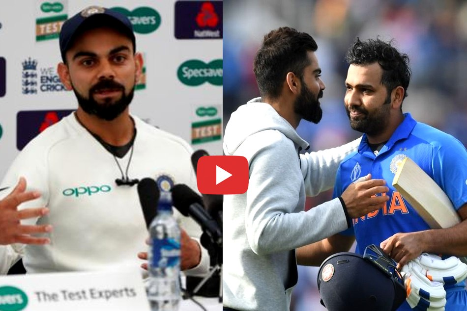 Cwc19 Virat Kohli Termed Rohit Sharma S Century As His Best Odi Knock So Far