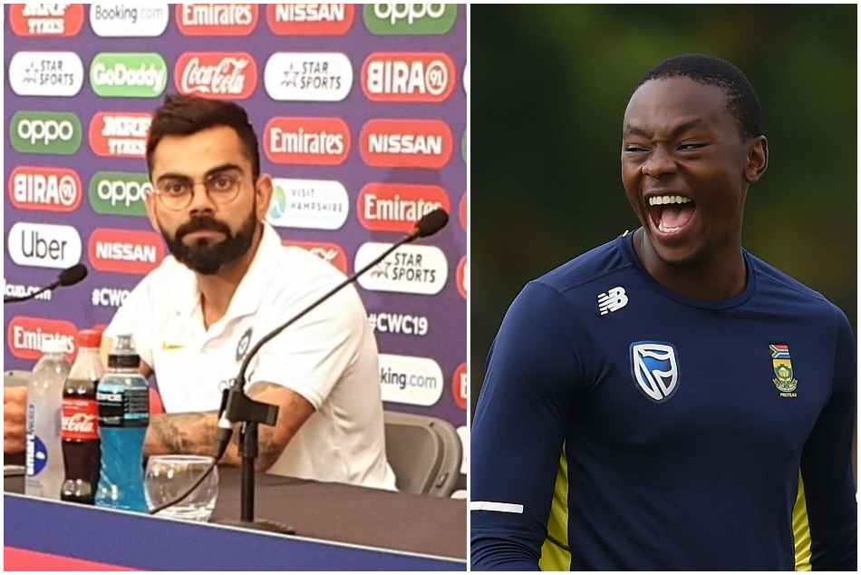 ICC World Cup 2019: Virat Kohli talks about the Kagiso Rabada on pre match eve