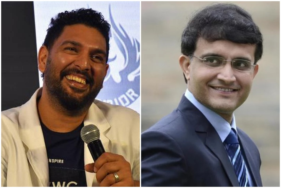 Yuvraj Singh replied hilariously his Dadi sourav ganguly
