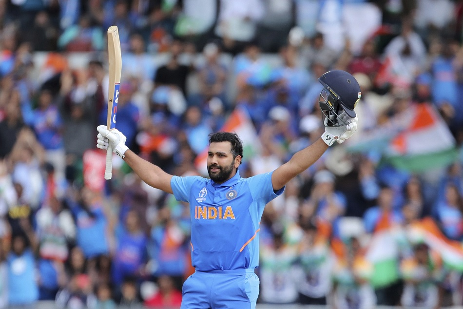 Rohit Sharma achieves incredible records with his 5th World Cup 2019 ton
