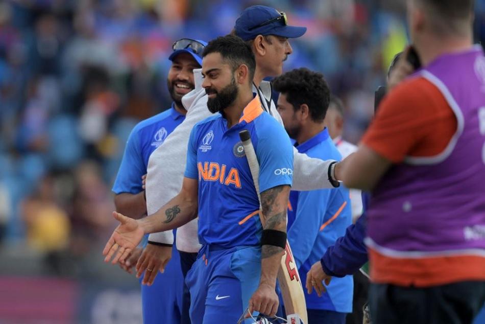 Virat Kohli made his 1000 runs in ODI World Cup, also break Sourav Ganguly Record