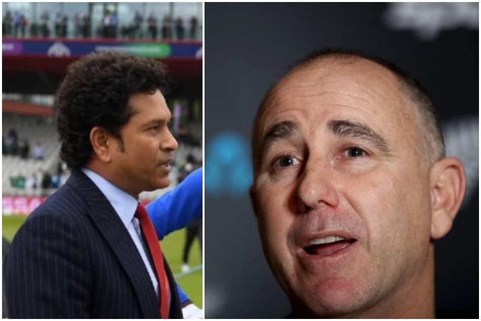 New Zealand Cricket Team Coach Takes A Jib On Sachin Tendulkar S Tweet To Ms Dhoni