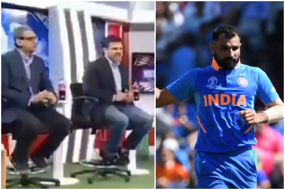 Pakistani Cricket Expert says Mohammad Shami is sat out because he is a Muslim