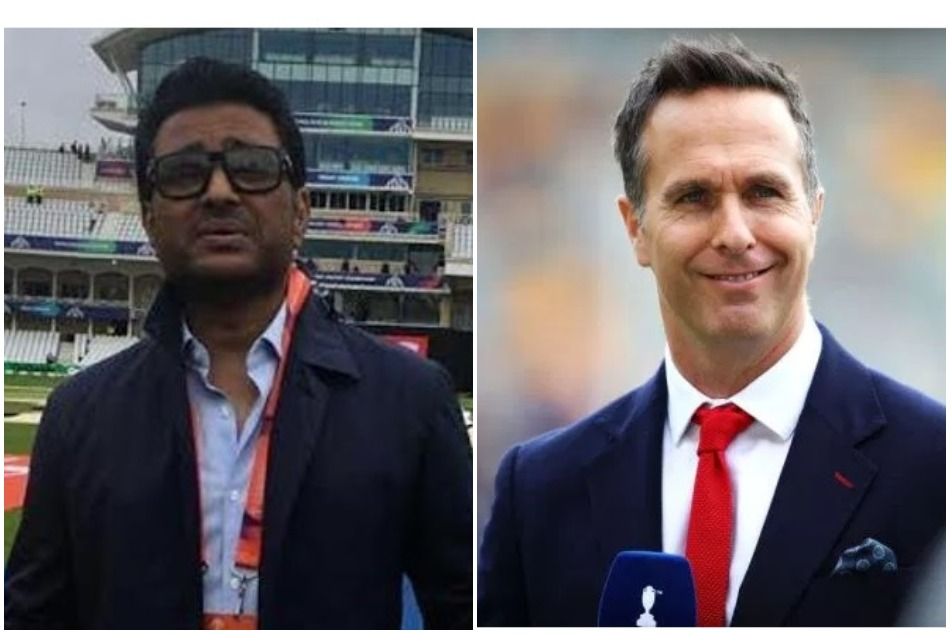 michael vaughan trolls Sanjay Manjrekar on picking Ravindra jadeja in his semifinal team
