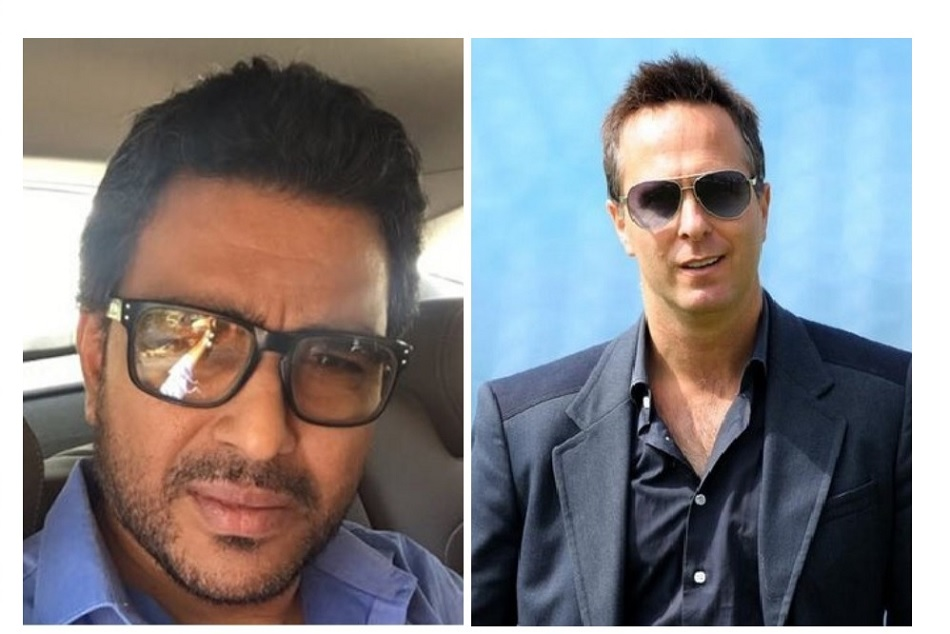 Sanjay Manjrekar blocks michael vaughan on repeated trolling on Ravindra Jadeja