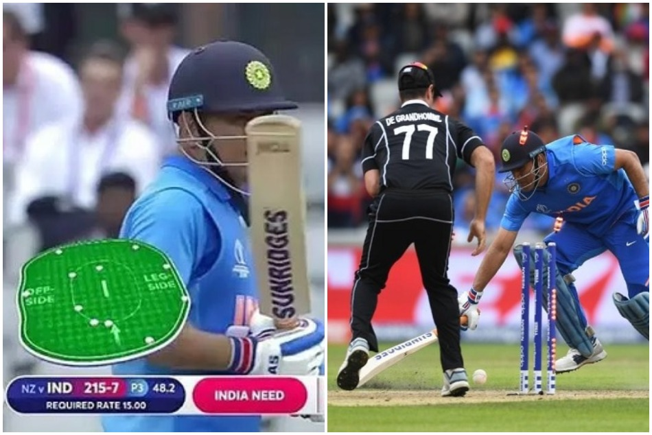 World Cup 2019: MS Dhonis run out vs New Zealand comes in controversy