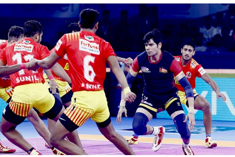 Pro Kabaddi League 2019, Match 3: Bengaluru Bulls vs Gujarat Fortunegiants, Match Result