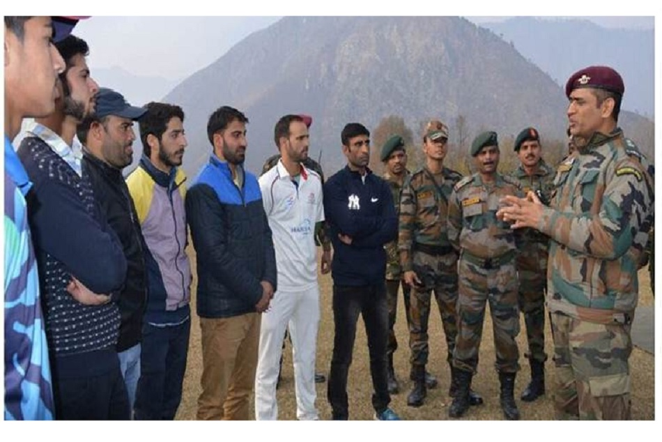 MS Dhoni will join the battalion from 31 July to 15 Aug 2019 in Kashmir Valley