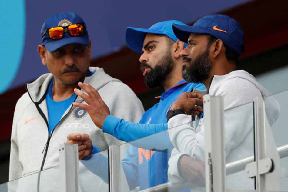 Virat Kohli with Ravi Shastri