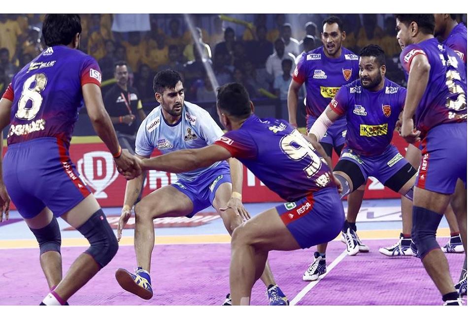 Pro Kabaddi 2019, Match 9: Dabang Delhi won the match in last moment vs Tamil Thalaivas