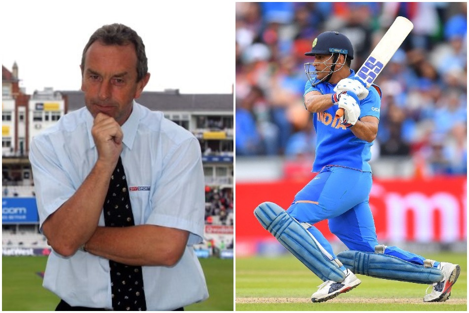 Indian fans slammed David Lloyd for his cheeky tweet on MS Dhoni