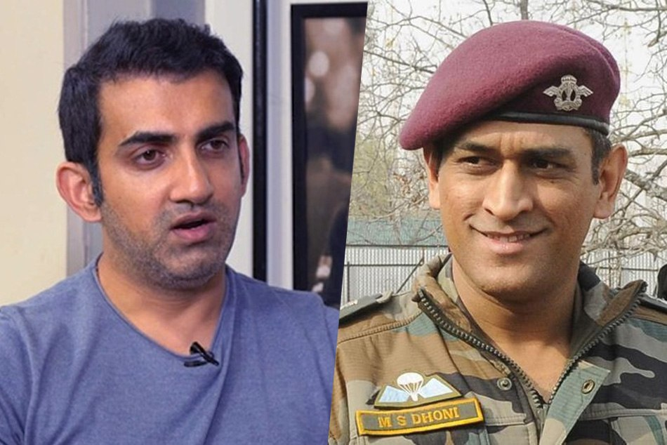 Gautam Gambhir and Kapil Dev praise MS Dhonis decision to join Indian Army in Kashmir