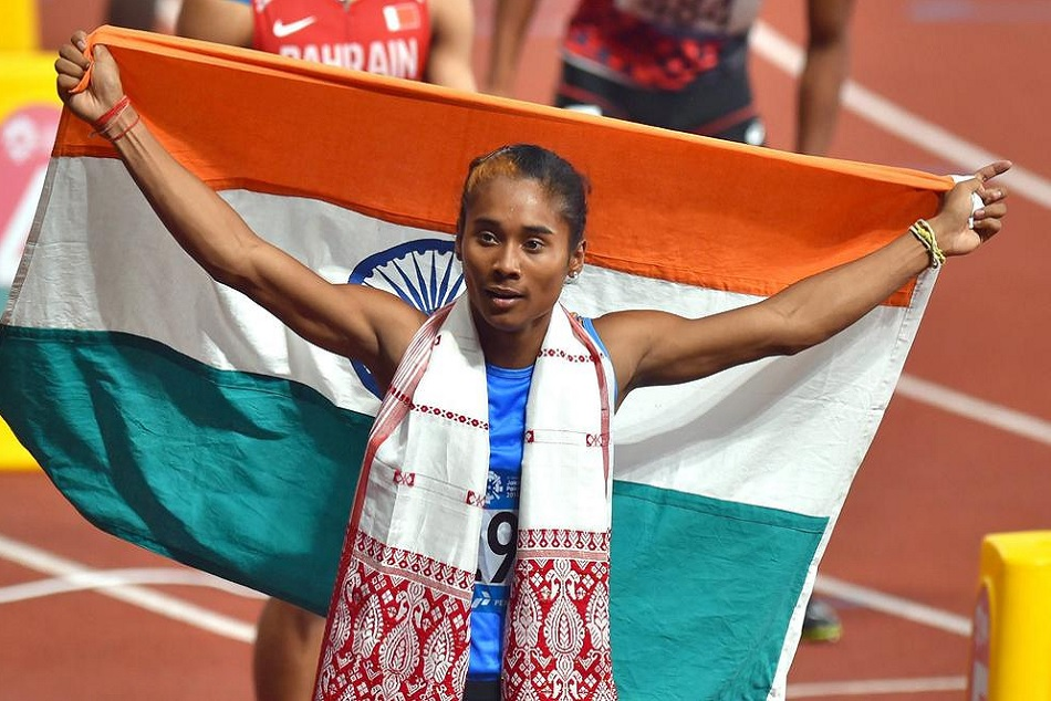 Hima Das grabs his 5th gold of the month by winning another one in 400m race