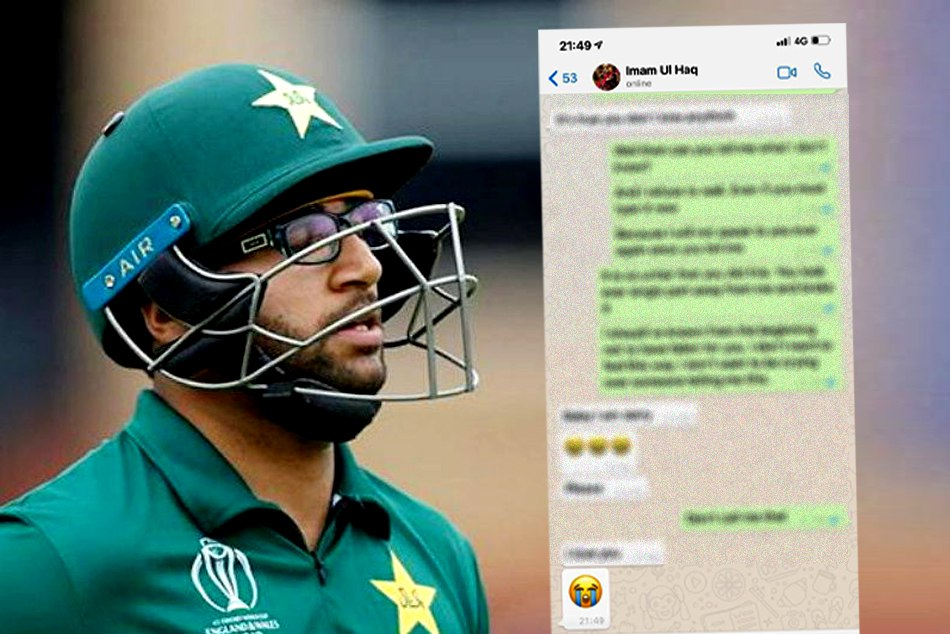 Imam ul Haq asked for unconditional apology from PCB over leaked private chat