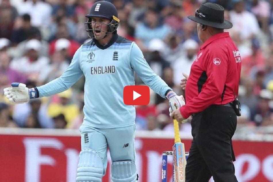 Jason Roy Run Out Issue England Vs Australia Icc World Cup 2019 Semifinal Match