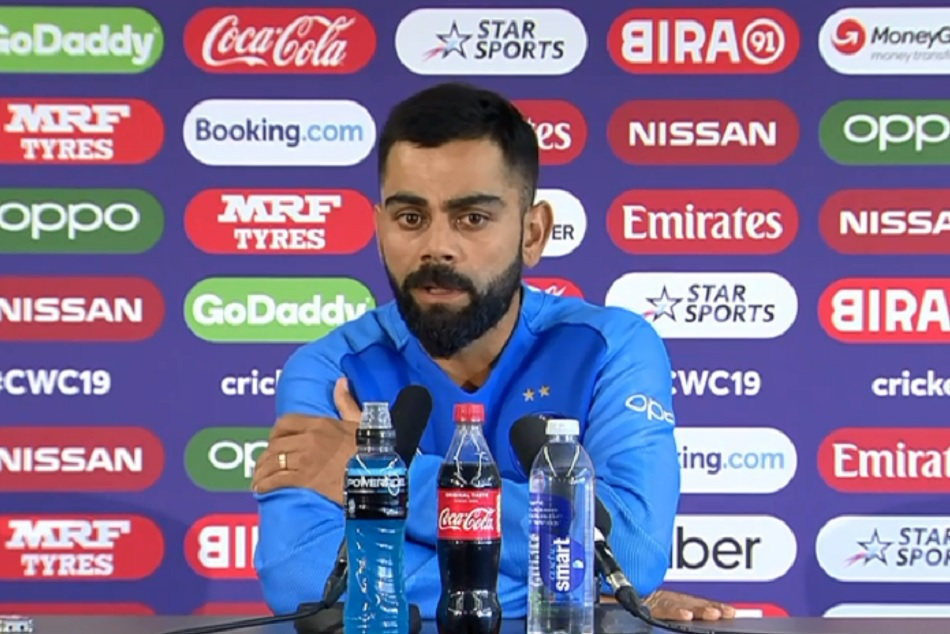 Virat Kohli gives clearance on MS Dhonis batting order in Semifinal match