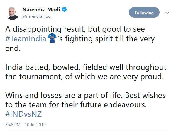 'भारतीय टीम ने पूरे टूर्नामेंट में गेंद, बल्ले और फील्डिंग में तगड़ा खेल दिखाया'