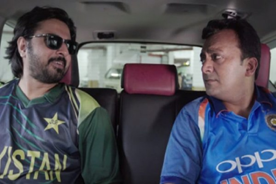 Indian And Pakistani Fan In Video Of Mauka Mauka Icc World Cup 2019 Semifinal