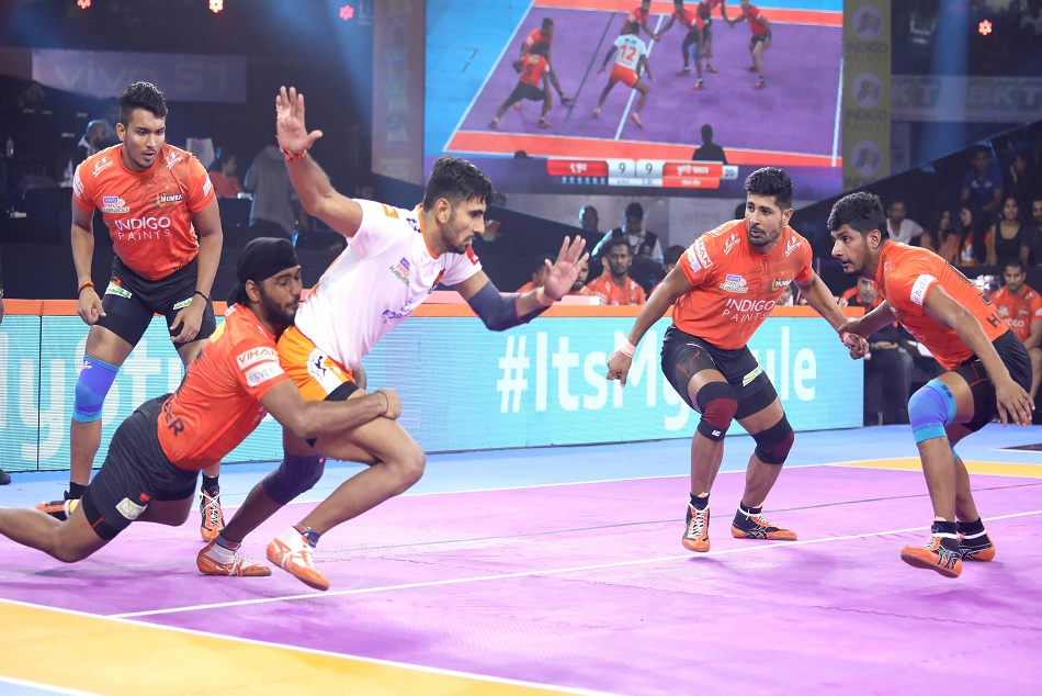 Pro Kabaddi 2019, U Mumba starts its home leg with victory againt Puneri Paltan