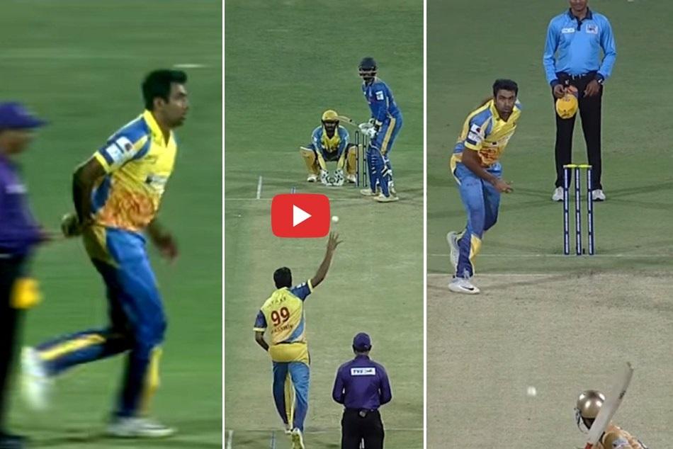 VIDEO : तमिलनाडु प्रीमियर लीग में अश्विन ने डाली अजीबोगरीब 'मिस्ट्री गेंद', सब देखकर हुए हैरान