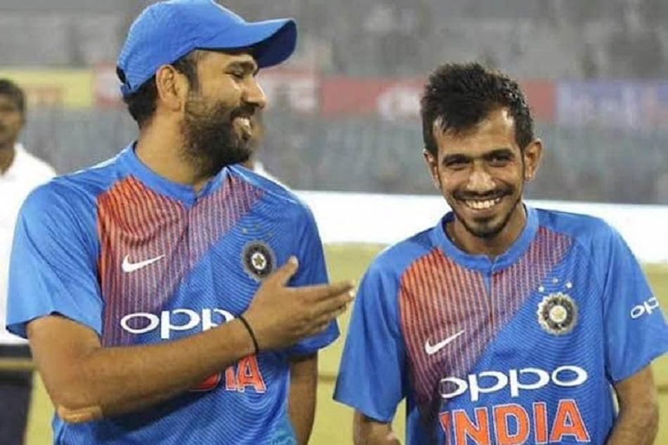 रोहित ने अनोखे अंदाज में दी चहल को जन्मदिन की बधाई, बताया 'सबसे महान खिलाड़ी'