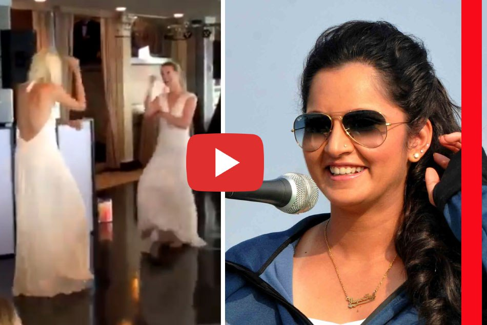 Alison Riske Dance Video Viral On Bollywood Song Here Is The Sania Mirza Reaction