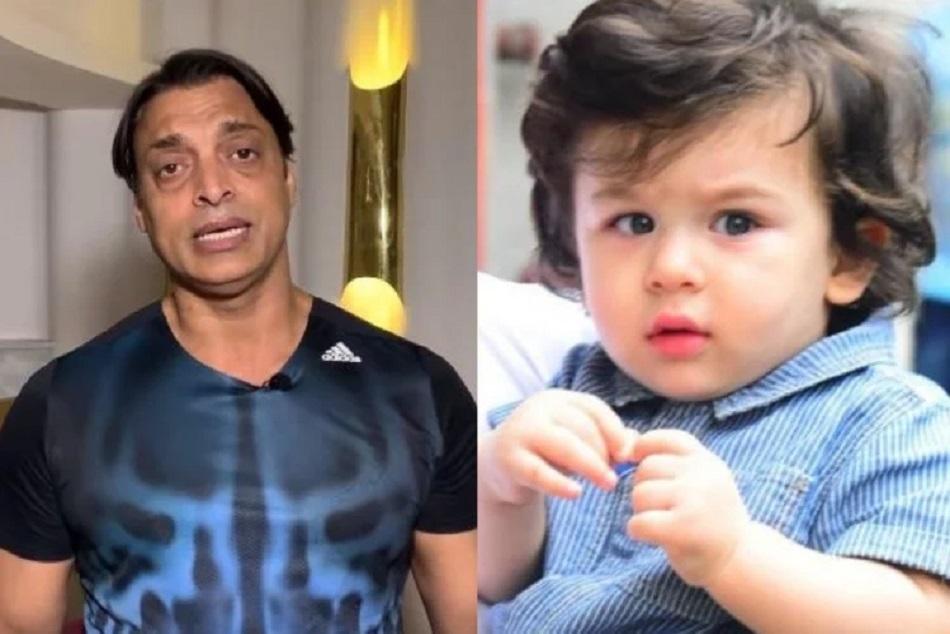 Dont Want My Son To Be Taimur Ali Khan Shoaib Akhtar On Sharing Pics Of His Newborn