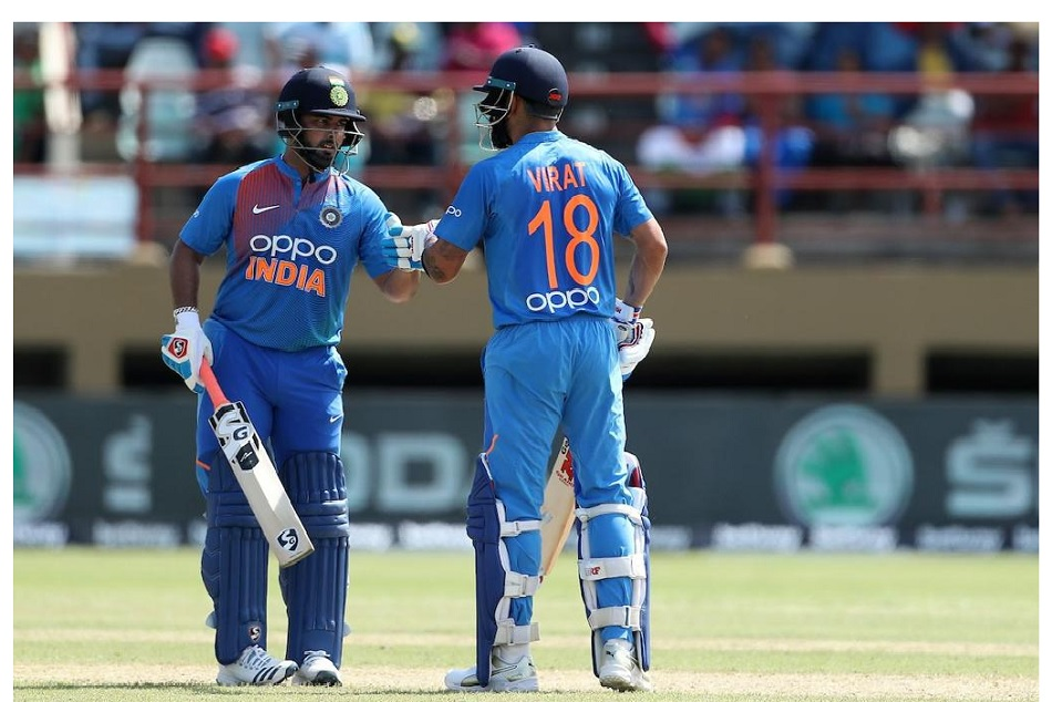 INDvsWI: Virat Kohli said number four and five are teams flexible guys