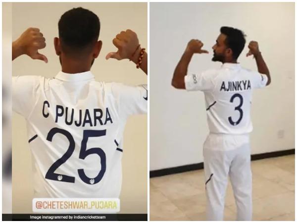 टीम इंडिया की नई जर्सी-