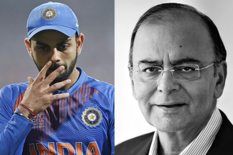 Virat kohli is Shocked & saddened on passing away of Arun Jaitley