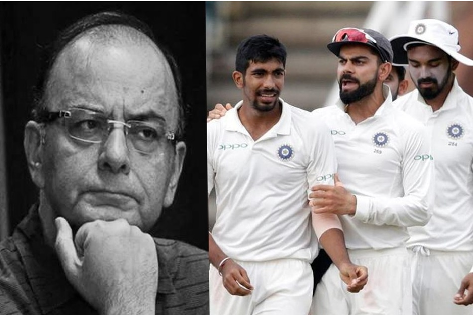 Team India will wear black arm bands in test against WI to condole the demise of Arun Jaitley