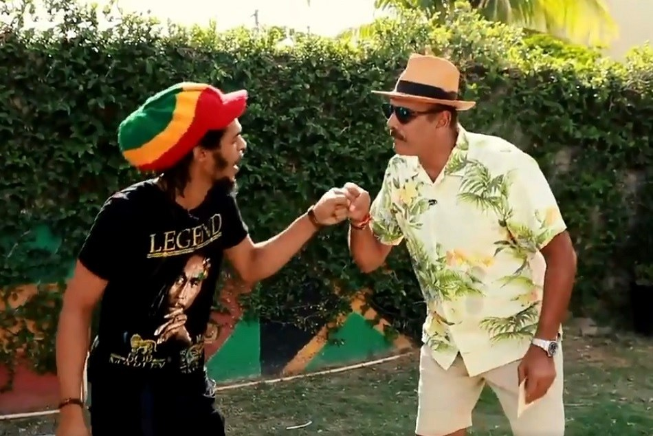 INDvsWI: Team India head coach Ravi Shastris visits legend Bob Marley, Watch