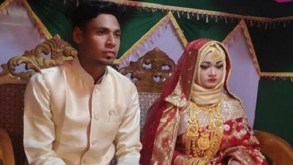 मुस्ताफिजुर रहमान और सामिया परवीन-