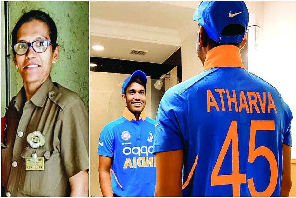 Mumbai bus conductors Atharva Ankolekar gets selected for India U19 team