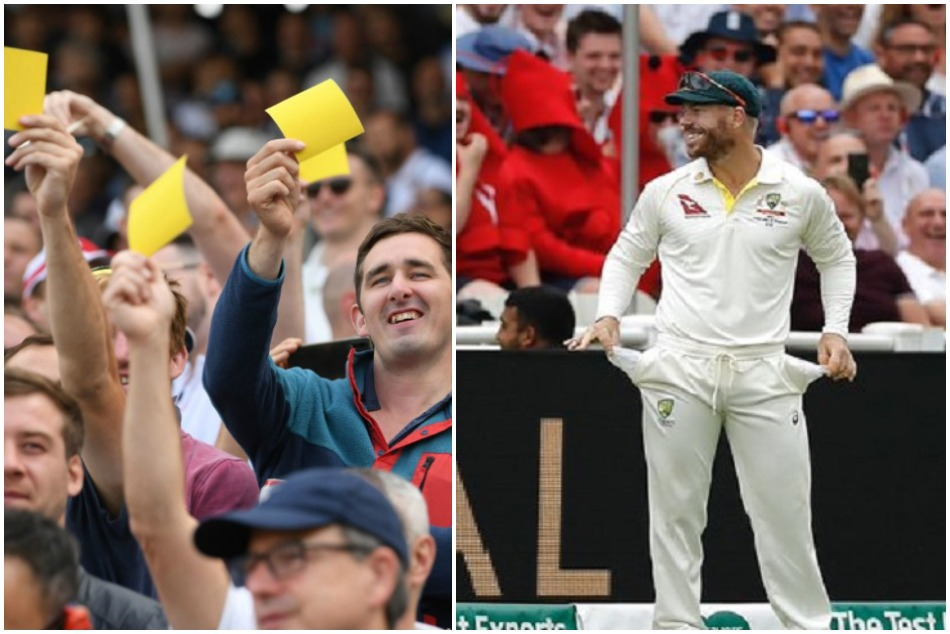 Ashes 19: David Warners humerous Response To Sandpaper Chants From English Crowd, Watch