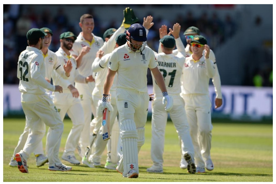 England all out for 67 runs in third ashes test and once again set an embarrassing record