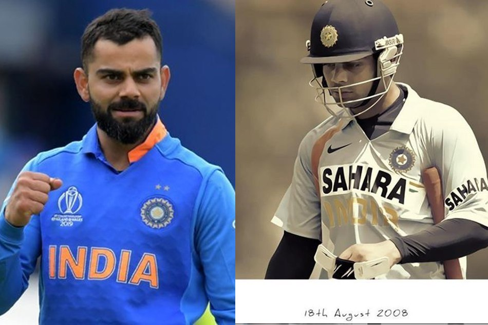 कोहली ने क्रिकेट में 11 साल पूरे करने पर लिखी 'स्पेशल पोस्ट', किसे कहा शुक्रिया