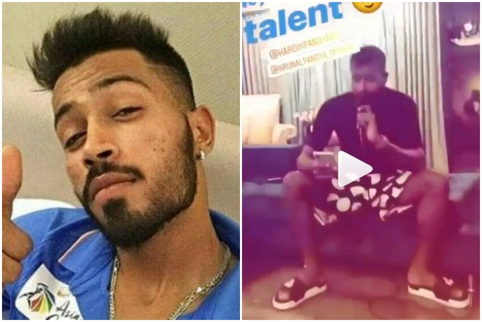 Hardik Pandya is singing kolaveri di song with brother krunal pandya, watch