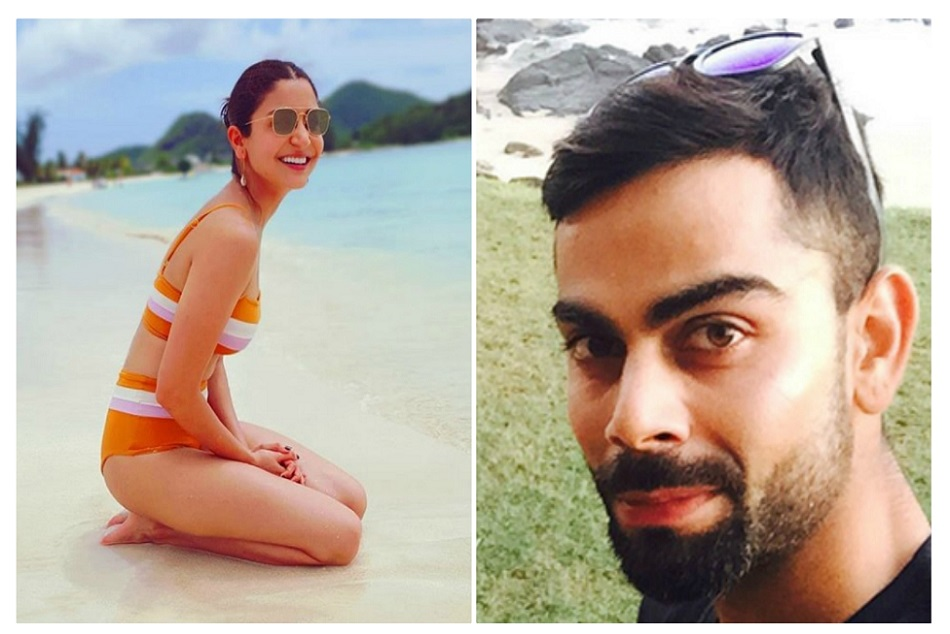 Virat Kohli spends beach time with Anushka Sharma ahead of first test vs West Indies