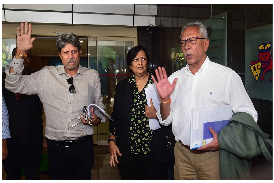 Kapil Dev says that CAC must have an opinion in selection of support staff as well