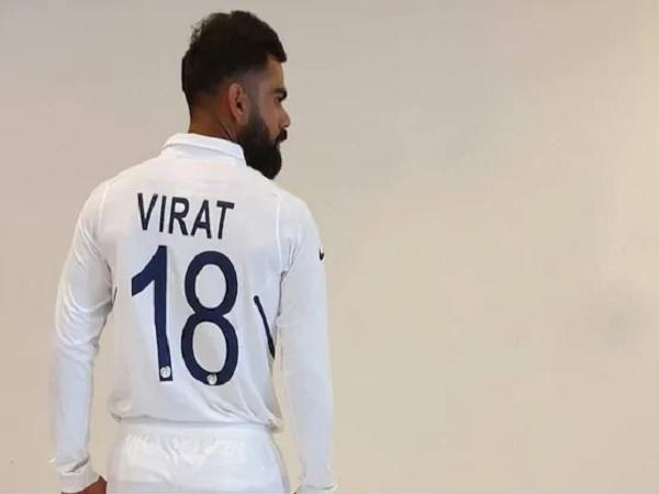 कप्तान कोहली का नंबर 18