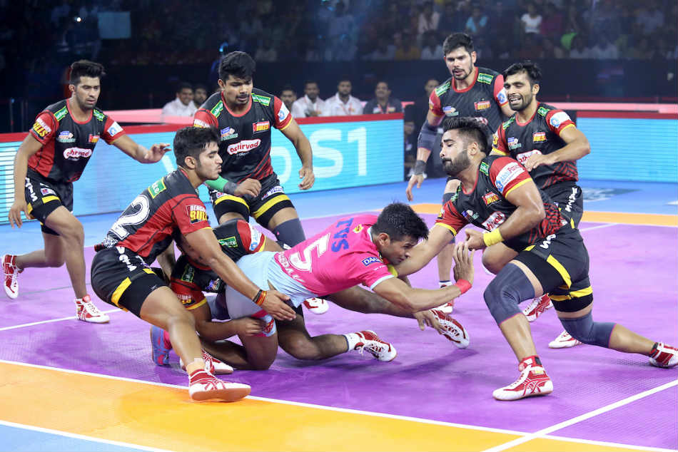 PKL 2019: Bengaluru Bulls defeat table-toppers Jaipur Pink Panther
