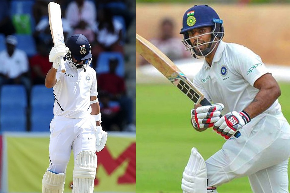 INDvsWI: Rahane, Vihari and team india has named these milestones on day 1 of 1st test
